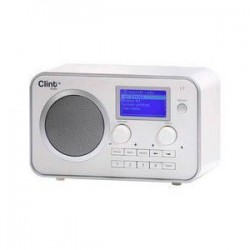 Clint L1 DAB+/FM Radio White