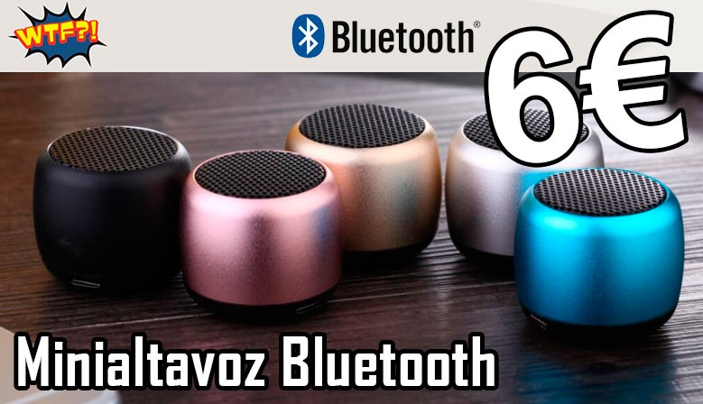 WTF! minialtavoz Bluetooth