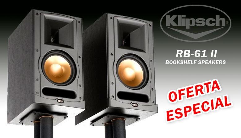 Klipsch RB-61 II oferta especial