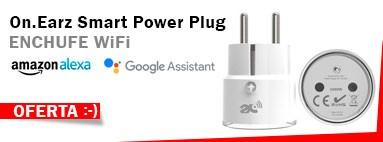 Oferta Enchufe WiFi Inteligente Alexa Google Assistant