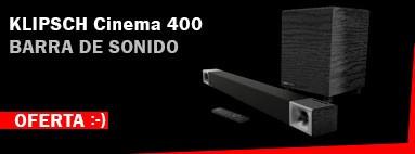 Oferta Barra de Sonido Klipsch Cinema 400